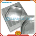 Cnc cut aluminum machined part