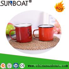 Chino tradicional Retro taza del esmalte