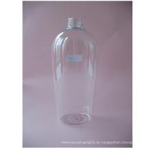 400ml Clear Flat Shampoo Flasche ohne Pumpe