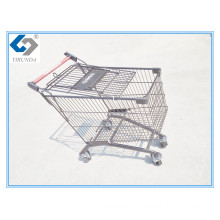 125L Black Shopping Carts with Caddie Style