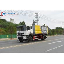 Camion de collecte des déchets solides municipal Dongfeng D9 scellé