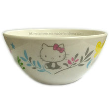 White Round Melamine Salad Bowl with Logo (BW7084)