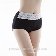 Medias panty de la alta cintura del algodón de las mujeres de la ropa interior de la cintura del algodón de la alta cintura del algodón panty de la alta panty