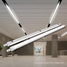 Vapor tight fixture led linear batten IP65 waterproof led tri-proof light for industrial lighting