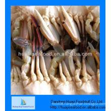 Blue crab frozen cut half crab