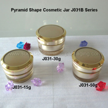 15g 30g 50g Gold Cone Acrylic Cream Container