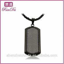 2014 wholesale alibaba black stainless steel pendants