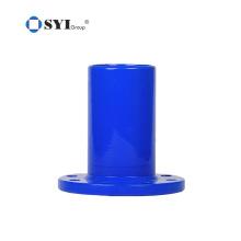 Conexões flangeadas AWWA C110 de ferro dúctil para projetos de tubulação de água ou esgoto