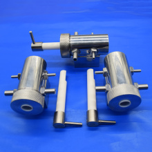 Zirconia Ceramic Valve Assembled with Stainless Steel Kit