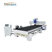 Carousel Automatic Tool changer CNC Router With Rotary