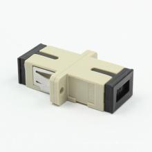 Adaptateur fibre optique multimode SC / PC avec bride