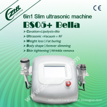 Bs05 Big News Sales Promotion Professtional Ultrasonic Cavitation Vacuum RF Body Shaping System