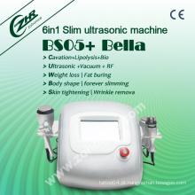 Bs05 Big News Promoção de vendas Professtional Ultrasonic Cavitação vácuo RF Body Shaping System