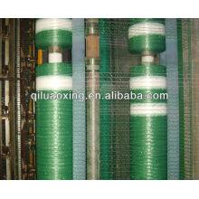 envoltório líquido de prensa de plástico verde / branco