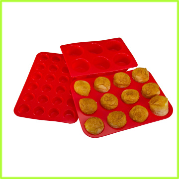 BPA Free Freezer Safe 6 xícara Muffin Pan