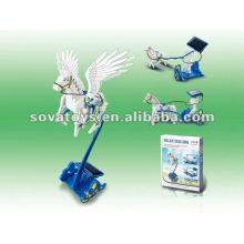 Solar Toy DIY 3 em 1 conjunto de educação