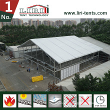 100 by 120 Feet Two Floor Double Decker Tent for Outdoor Events