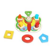 Schmetterling Form Puzzle Holzspielzeug für Kinder und Kinder