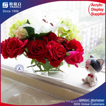 Cheap Plexiglass Acrylic Rose Box for Wedding