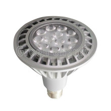 TUV CE SAA RoHS 16W dimmable led par38 lamp,12*1W High Power LEDs