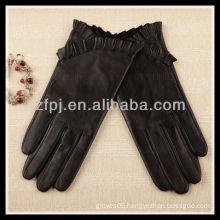 2012 new designed basic Leather Gloves lady
