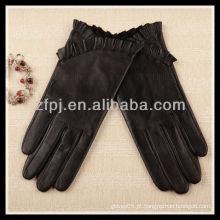 2012 novas luvas de couro básicas projetadas senhora