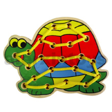 Wooden Lacing Turtle Toy for Baby (80160)