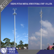 Special for Telecommunications Monopole 70FT 80FT Galvanized monopole steel pole supply to Belarus Factory