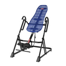 Good Quality for Blue Plastic Back Inversion Table Body Training Gravity Foldable Inversion Table supply to San Marino Exporter