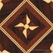 Elegante piso de madera laminada de alta tecnología contrachapada de ingeniería