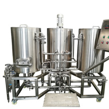 Stainless Steel Electric Heating 50L 100L Mini Home Beer Brewing Brewery Equipment