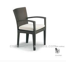 Chaises de salle à manger en osier noir Outdoor All Sale