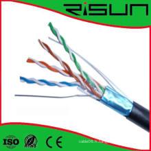 Câble Multi-Pairs Risun Plenum & Riser Câble FTP Cat5e