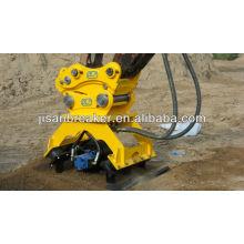 Pinzas rotatorias hidráulicas, pinza de madera, pinza de roca para excavadora terex