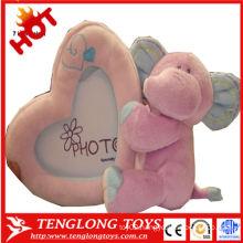 Baby Growth record elephant plush toy soft photo frame