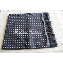 Кашемир трикотажные трубчатые шарф в горошек Printtings