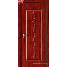 Venta caliente y puertas de madera interiores de MDF de alta calidad (8011)
