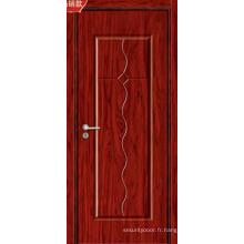 Vente chaude et portes en bois intérieures de haute qualité de forces de défense principale (8011)