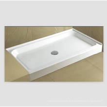 Upc Acryl Square Alcove Fliese Flansch Dusche Pan