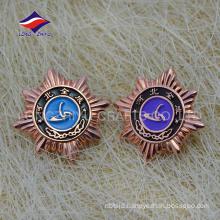 Soft enamel casting zinc alloy company souvenir pin