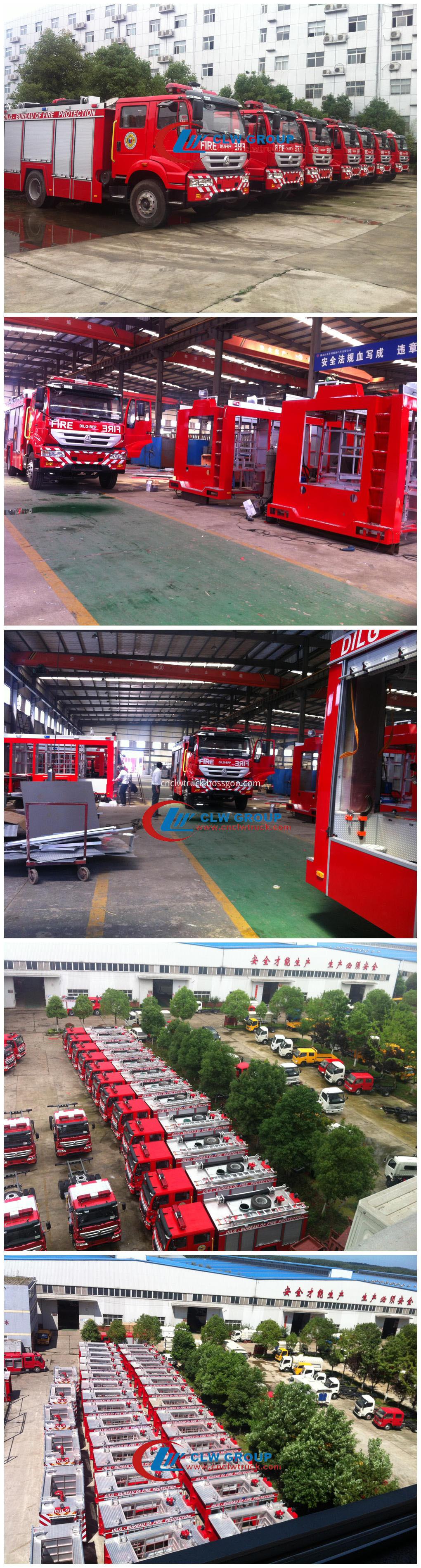 fire truck manufacturing