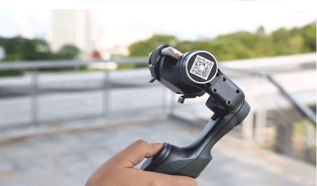 Handheld Gimbal Minimalistic Stabilizer With GoPro Adapter