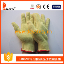 100% 10 Gauge Aramid Fiber Knitted Cut Resistant Gloves Dcr105