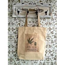 Eco-Friendly y Recycledhemp / bolso de compras orgánico del algodón (HOC)