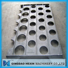Tube sheet/support by sand casting/heat-resistant high alloy casting for petrochemical furnace parts