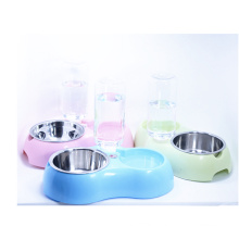 Healthy Pet Water Station Dog and Cat Water System with Stainless Steel Bowl