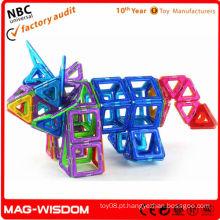 Jogo do edifício magnético de DIY
