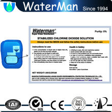 chlorine dioxide for swimming pond disinfection