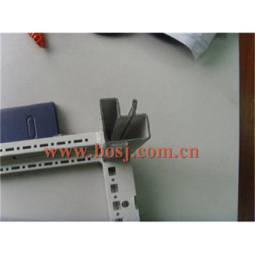 Neun Fold Profil, Rittal Profil, Schrank Rack Enclosure Frame Roll Forming Machine Korea