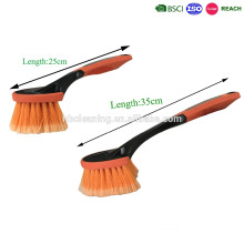 short handle car washing brush at home